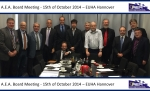 AEA Board Meeting Hannover 2014